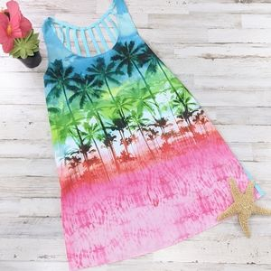Other - OP Tropical Swim Cover. NWT. Size small 3-5